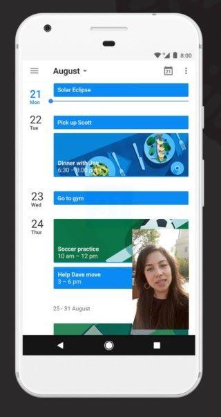 畫中畫可讓兩個 App 在同一個畫面上顯示
