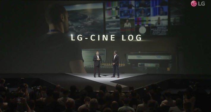 LG 率先在手機引入高階攝影機和單反才有的 LG-Cine Log