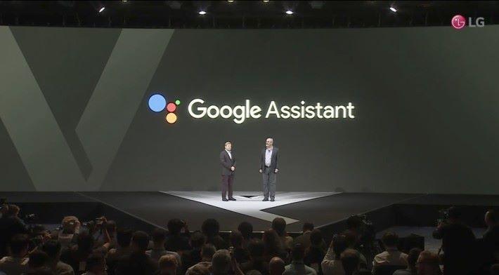 支援 Google Assistance