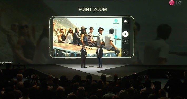 Point Zoom 令用家在拍片時的 Zoom-in 隨心所欲之餘也更流暢