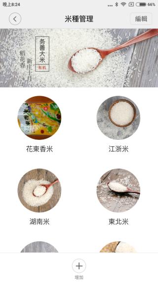 不同米種會用不同煮法,圖中的花東香米便是我自己加進去的。