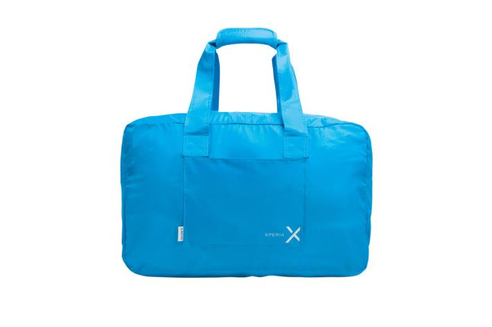 買 Xperia XA1 Ultra 亦可以獲贈可摺式輕便旅行袋。