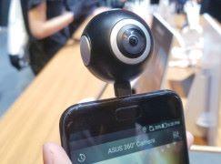 ASUS 首款 360 鏡頭悄然亮相