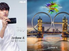 男神孔劉代言推 Asus 雙鏡頭 ZenFone 4 手機(內有帥哥圖)