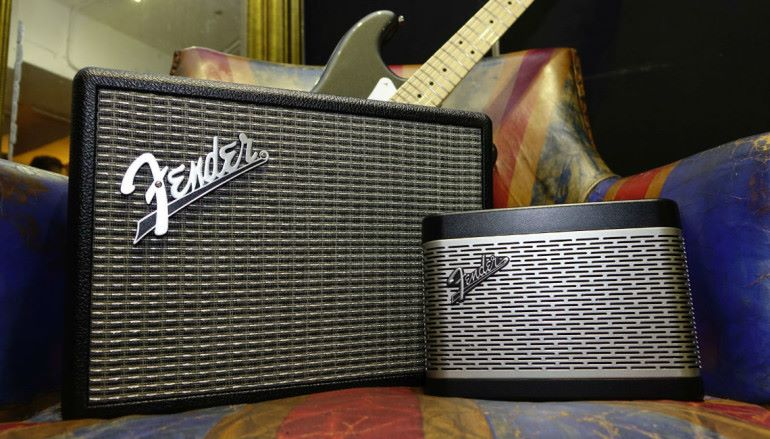 經典造型實力依然 Fender 藍牙喇叭 The Monterey 及 The Newport