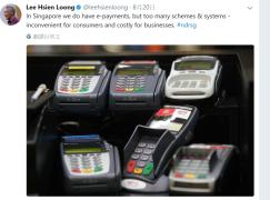 新加坡總理出Tweet徵電子交易系統  Razer CEO回應18月可搞掂