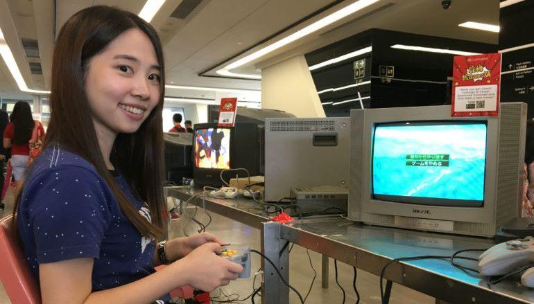 【復古情懷】香港復古遊戲展 2017 過百部懷舊家用機任玩