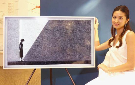 Samsung 新出「畫框」電視 擺得又睇得