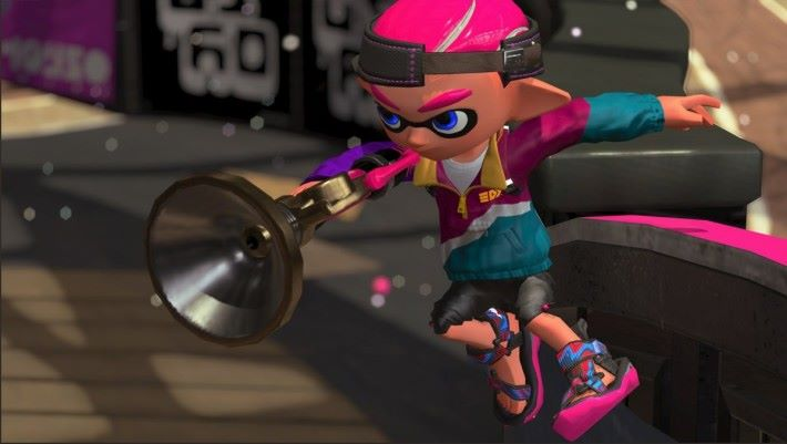 於 8 月 5 日新增的武器「Sploosh-o-matic」