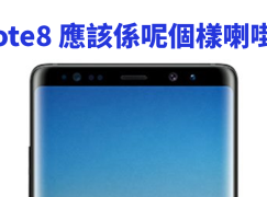 Samsung Galaxy Note8 應該係呢個樣喇啩?