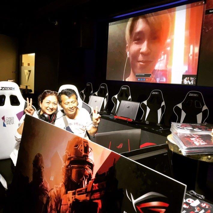 賽後 ChuChuB 的父母和兒子相隔兩地視像通話,令他驚喜交加。
