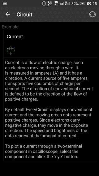 App 開初會介紹不同電路符號的應用。