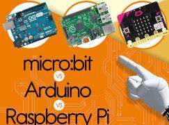 淺談電路板 micro:bit vs Arduino vs Raspberry Pi