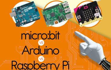 淺談電路板 micro:bit vs Arduino vs Raspberry Pi