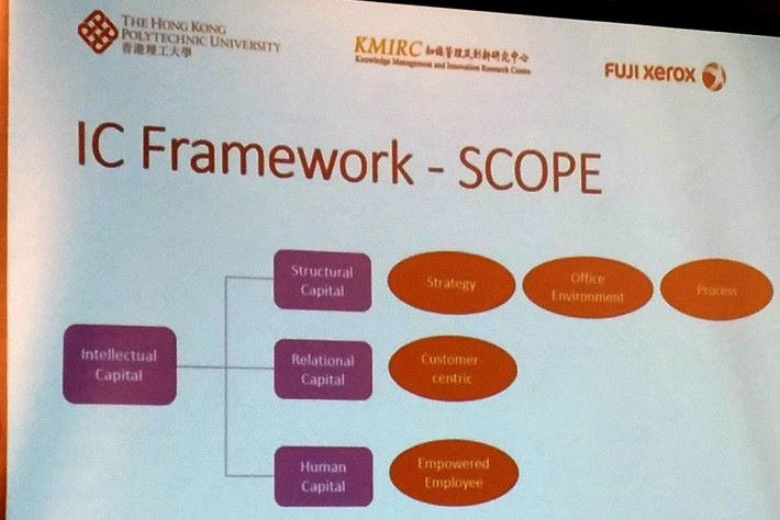理大的李榮彬教授指出,為使調查適用於各類型的企業,最後從 5 個範疇作評估。