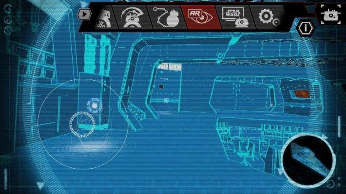 以機械人視點遊走星戰戰艦