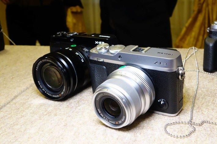 FujiFlim 在日本東京發表 全新的 X-E3 相機。
