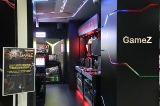 位於旺角惠豐中心的豐澤 GameZ 電競專區。