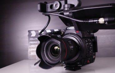 電影級 4K 拍攝 Canon EOS C200