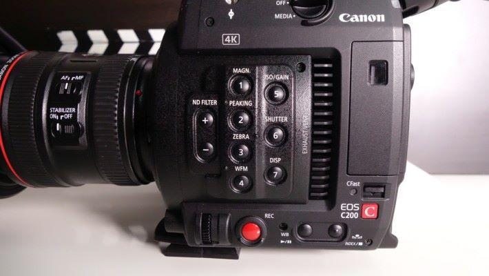 可以設定 0~10 級 ND 減光濾鏡