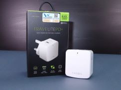 支援 PD 及 QC 3.0 ENERGA TRAVELITE PD+ 旅行充電器