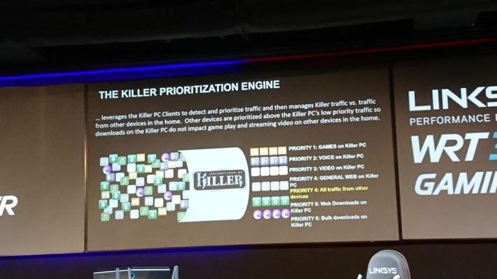 在 KPE 的優化順序下,即使用 Killer 裝置進行普通上網,亦會比非 Killer 裝置的所有活動(包括遊戲 Packet)優先處理。