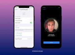 [iOS 11洩密] iPhone 顏面辨識輸入過程