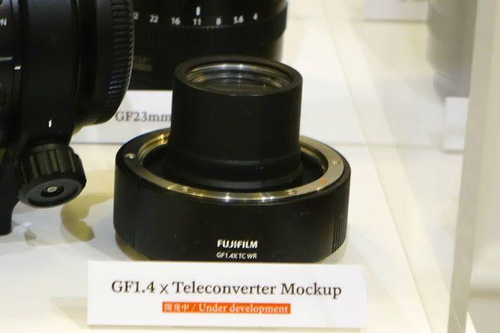同樣預計下年中推出的 GF1.4X TC WR。