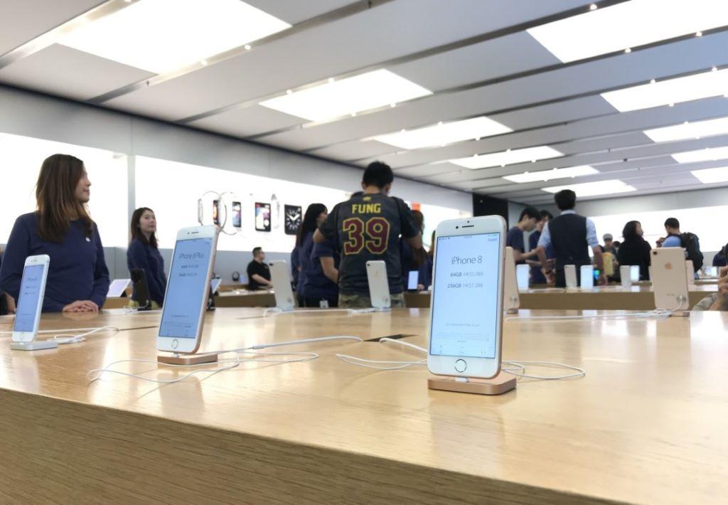 iPhone 8首賣 場面最冷清的一次開賣日