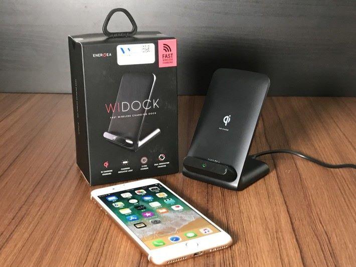 WIDOCK 採用雙充電線圈,效能較傳統產品優勝。