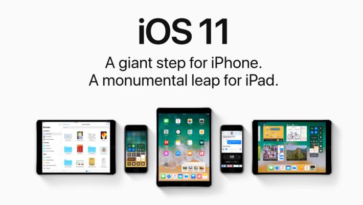 使用 iOS 11 的裝置,普及率高達 85%。