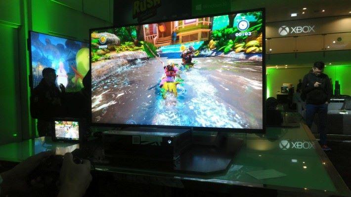 遊戲以全新技術移植至 Xbox One 平台,並且可對應 Xbox One X 提供 4K 影像效果。