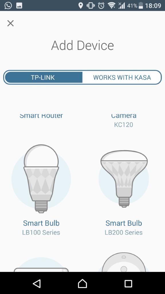 此 App 亦能控制其他 TP Link 智能家居產品。