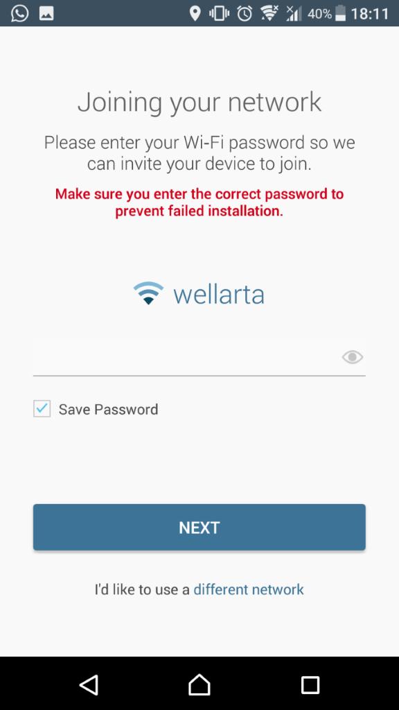 加入 Wi-Fi 網絡。