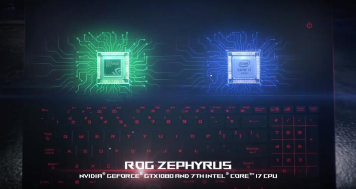 CPU 及 GPU 的位置會有相應的風扇散熱。