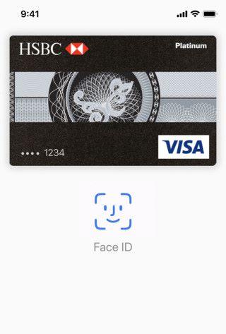 Apple Pay 也可以用 Face ID 來認證, Apple 說保安比指紋還要好。