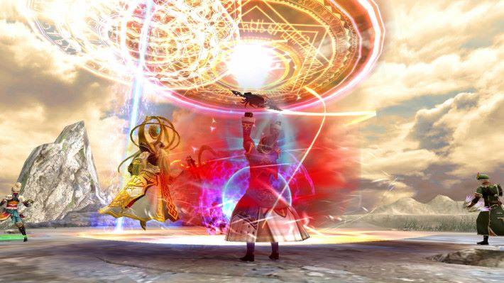 水晶和召喚獸是今次遊戲的重點。