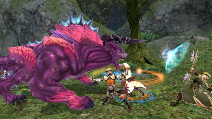 戰鬥以動作為主,可能會需要玩家花時間去練習。