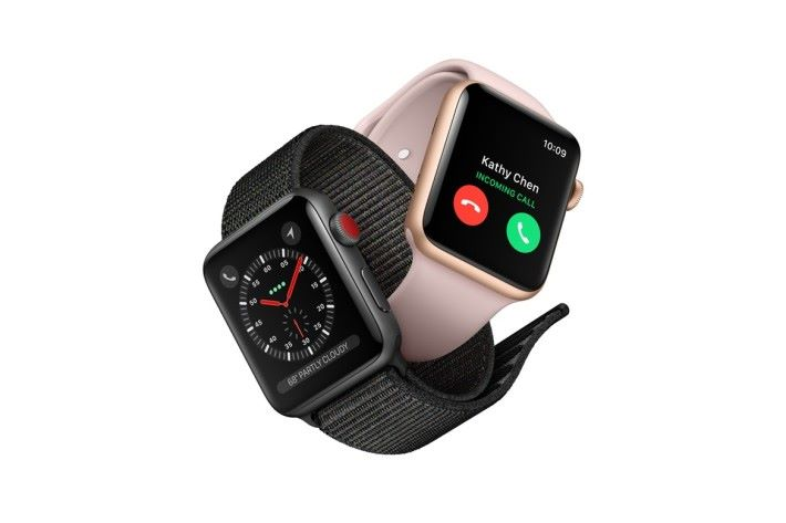 Apple Watch LTE 版採用了內置 eSim 的設計。