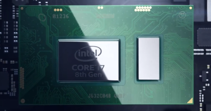 小米筆記本 Pro 屬首批能使用 Intel 第八代 CPU Notebook 之一。