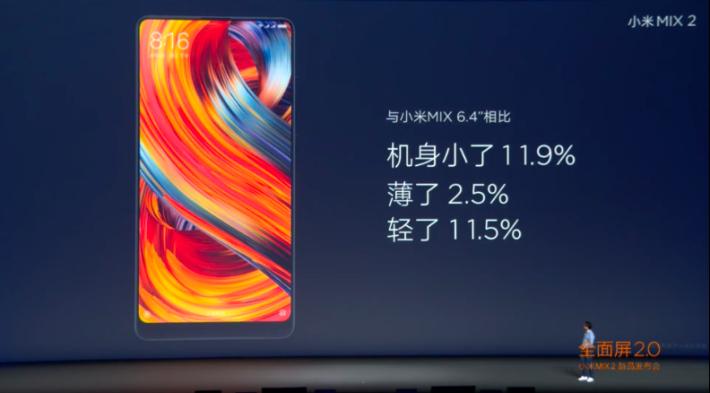 比上代更輕更小巧,並轉用了 18:9 比例屏幕。