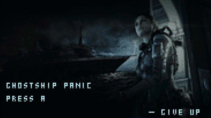 收錄的小遊戲是 《GHOSTSHIP PANIC》