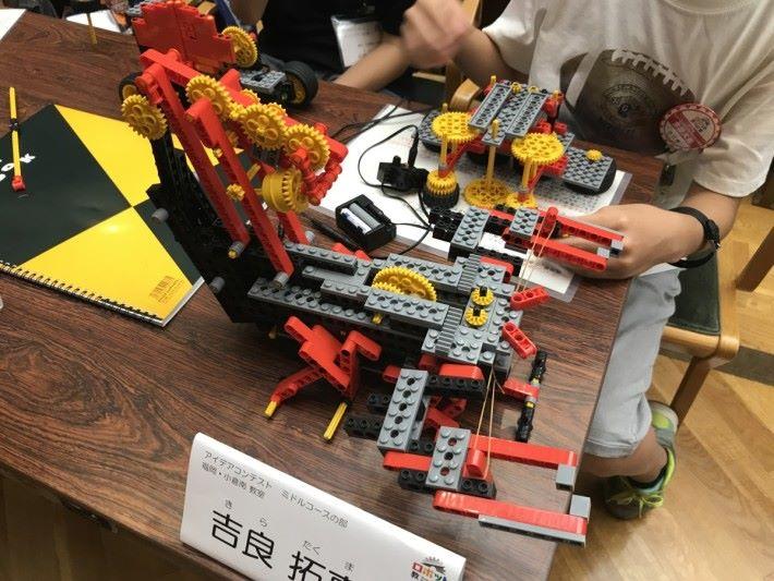 有部分參賽者會選擇仿照一些遊戲用品或生產機械,利用餘下組件製作小型的機械模型,例如老虎機、織布機、機械式編程音樂盒、平衡儀等。