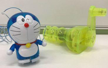 手搖玩具看發電裝置