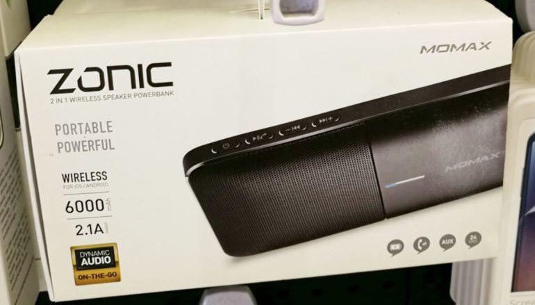 【場料】手機喇叭多人買 Momax ZONIC 播足 24 小時