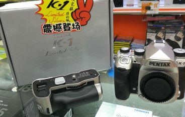 【場料】 Pentax K-1 加推銀色限量版