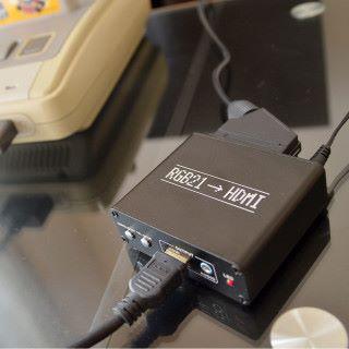 舊遊戲用 RGB21 傳輸線可以提升畫質