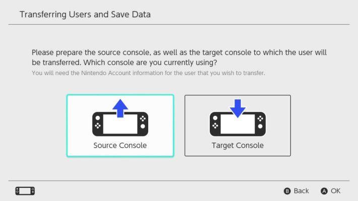 傳送資料則選擇左方,而接收資料則選右方。