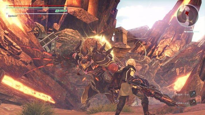 主角將以兩刀神機對抗荒神。