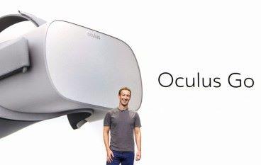 Facebook 發表全新 Oculus 獨立式 VR 裝置